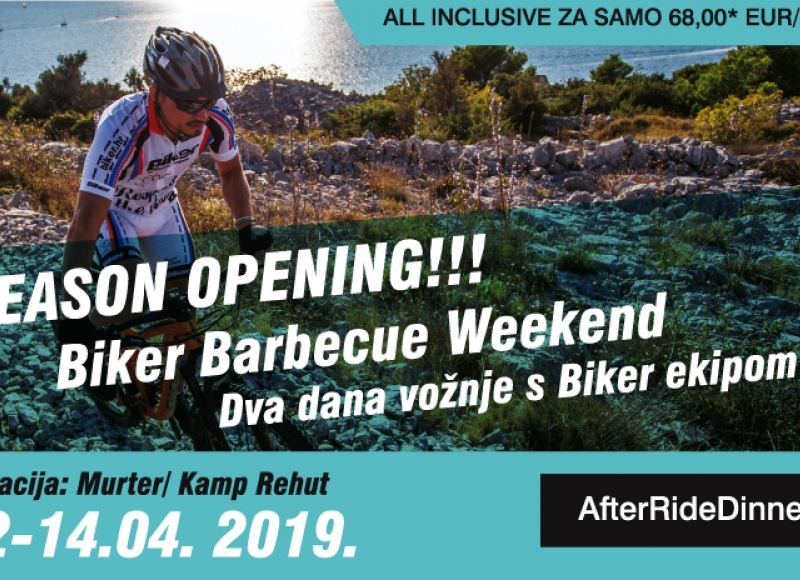 Biker Barbecue Opening Season 12.-14.04.2019.