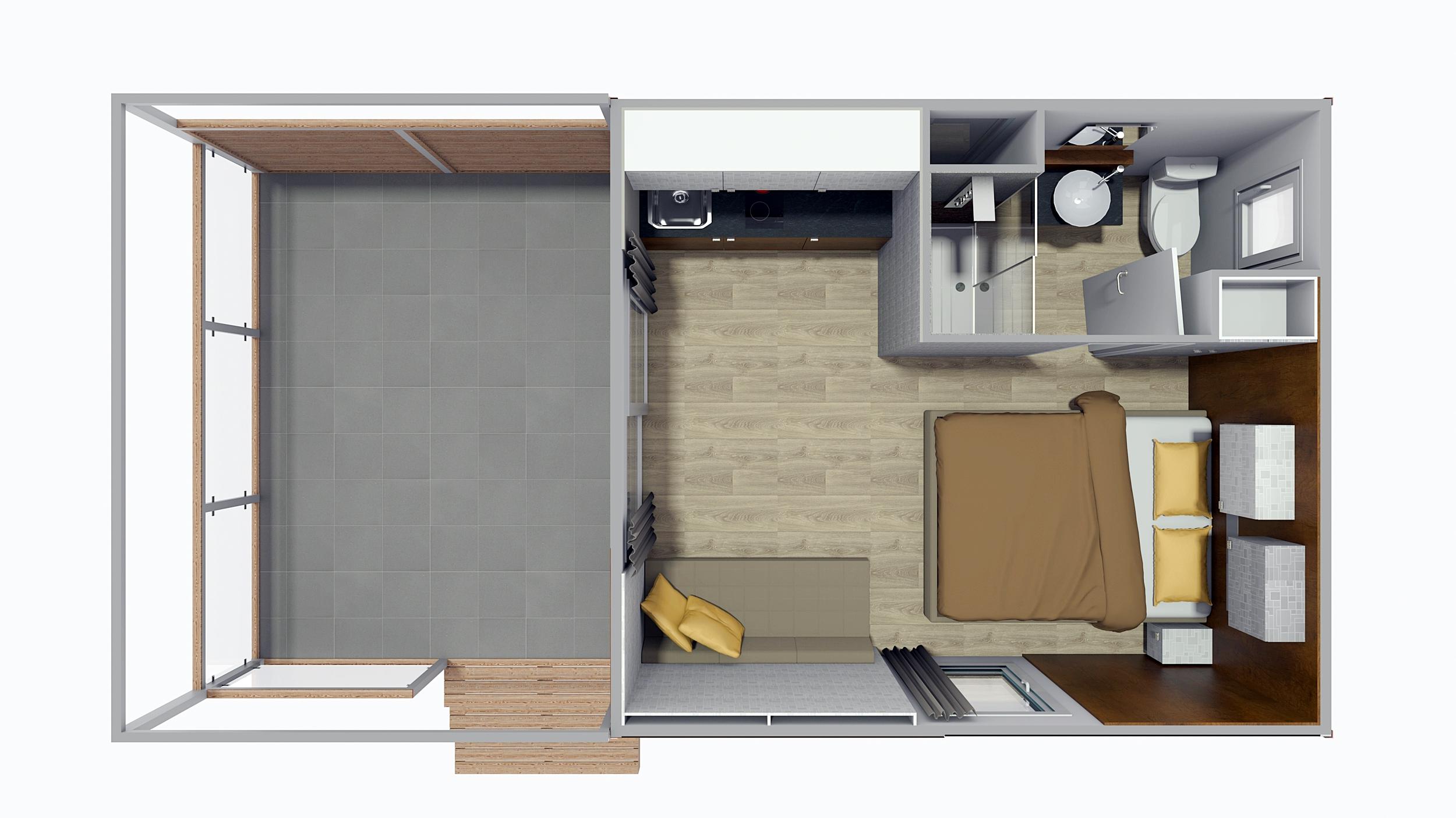 Pearl suite 3d prikaz