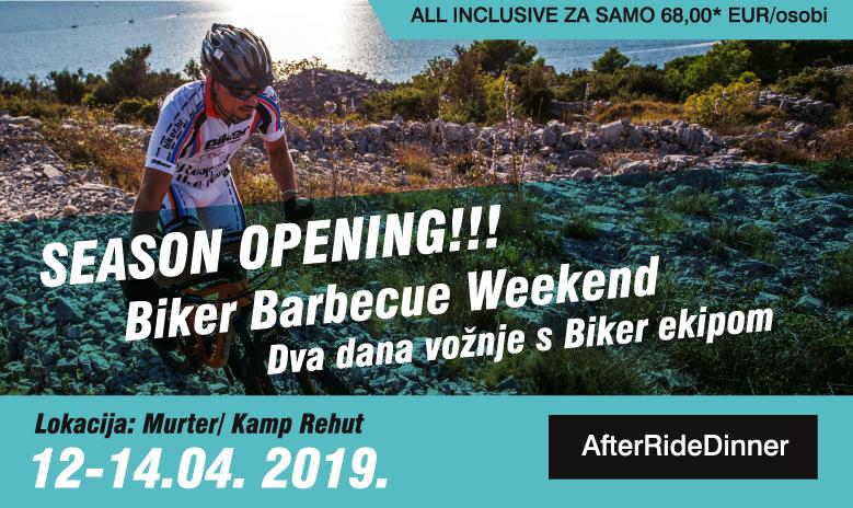 Biker Barbecue Opening Season 12.-14.04.2019.